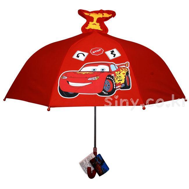 (디즈니Cars) 카 입체우산 (DS-UM14C) 캐릭터우산 아 캐릭터우산 아이우산 유아우산 어린이용우산 미니우산