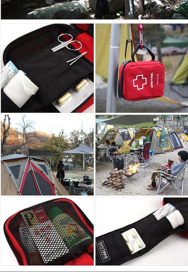 (데이타임 휴대용 구급낭 S) 구급함파우치 파우치 휴 구급함파우치 파우치 휴대용 캠핑수납가방 구급가방