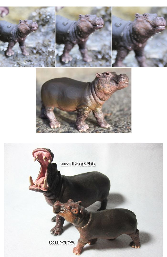 파포 50052 동물모형 아기 하마 동물피규어 동물모형 동물피규어 동물모형장난감 동물모형인형 동물장난감 아기하마피규어 아기하마 아기하마모형 아기하마인형 동물모형교구 동물모형피규어 동물모형